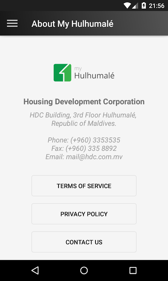 My Hulhumale- screenshot