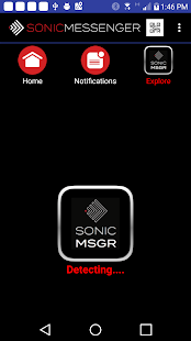 SonicMessenger - náhled