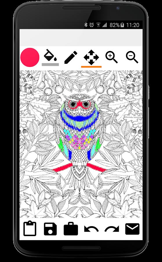 Free Adults Coloring Book Screenshot
