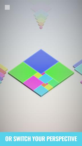 Isometric Squares - puzzle u00b2  screenshots 4
