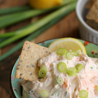 Smoked Salmon Cream Cheese Dip or Spread.