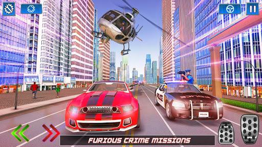 Flying Robot Rope Hero - Vegas Crime City Gangster screenshots 16