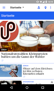 az Limmattaler Zeitung News screenshot 0