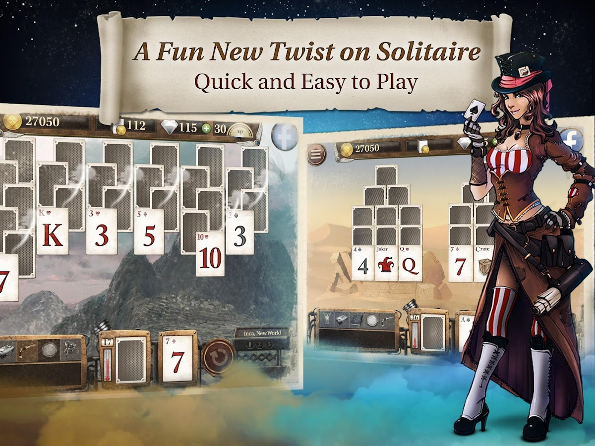 Solitaire Quest- screenshot