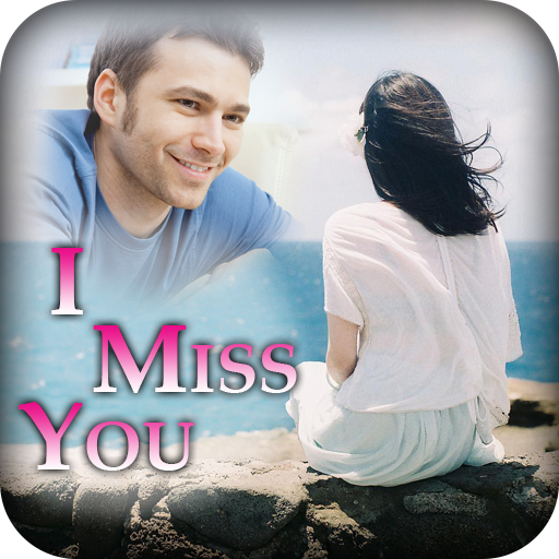 Miss You Photo Frame