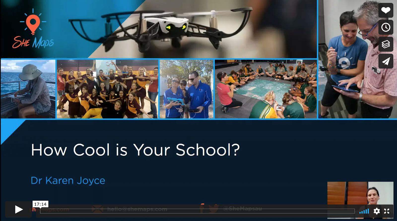 How Cool is Your School presentation by Dr Karen Joyce