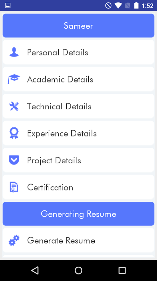 my resume cv builder android apps on play