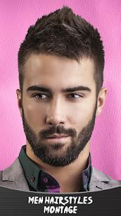 Mužské účesy montáže - náhled