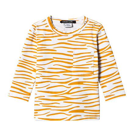 Little LuWi Yellow Tiger LS T-shirt