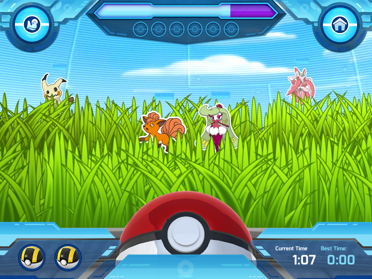 Camp Pokémon- screenshot