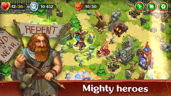 Holy TD: Epic Tower Defense Screenshot