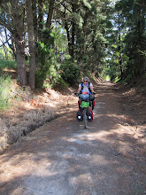 Photo: Year 2 Day 154 -  On the Rail Trail from Fish Creek to Foster