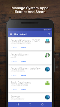 Download Apps Manager - Apk Extractor APK latest version app
