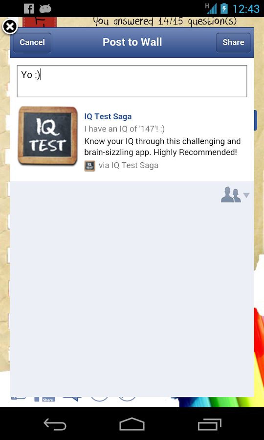 IQ Test - What's my IQ?- screenshot