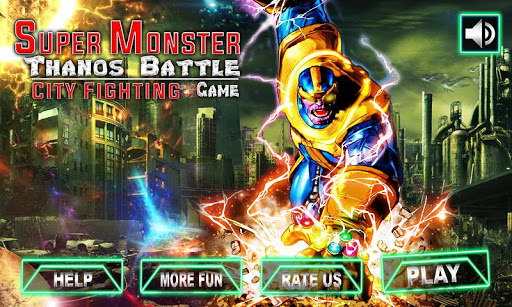 Super Monster Thanos Battle - City Fighting Game 1.1 4