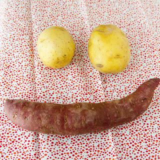 Golden Purple Potato Salad