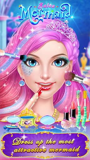 🧜♀️👸Mermaid Makeup Salon screenshot 21