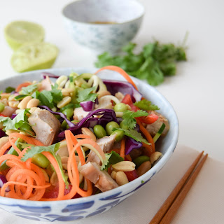 Chicken Pad Thai Salad.
