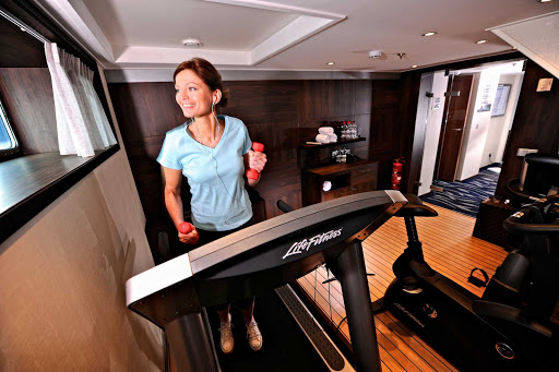 When you aren't exploring the streets of quaint European villages, you can work out in the Fitness Room of Avalon Felicity.