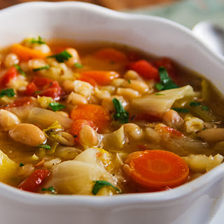 Irish White Bean and Cabbage Stew.