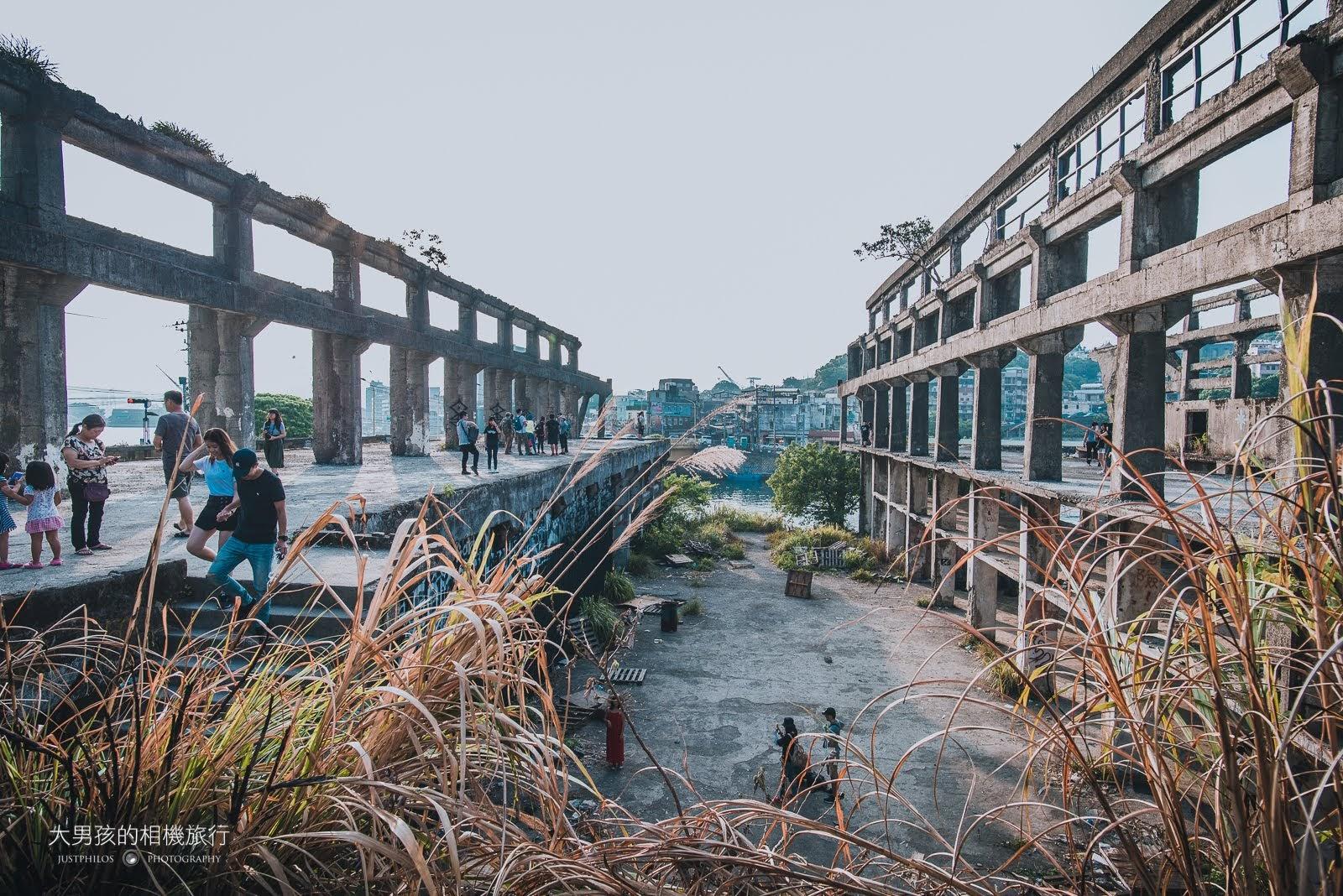 阿根納造船廠遺址是新興的基隆IG打卡景點。