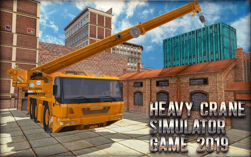 Heavy Crane Simulator Game 2019 u2013 CONSTRUCTIONu00a0SIM 1.2.5 screenshots 23