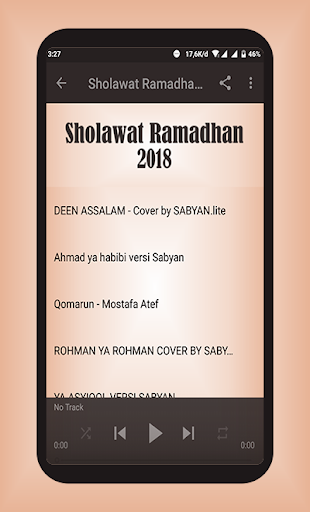 Sholawat Ramadhan Lengkap 2018 Offline for PC
