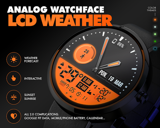 ByssWeather for Wear OS 2.5.9.7 screenshots 1