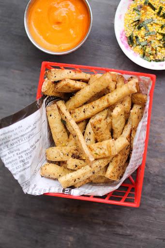 Baked Tofu Fries