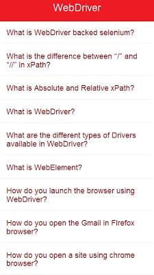 Selenium Interview Questions - screenshot