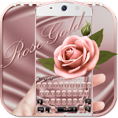 Theme Rose Gold for Keyboard