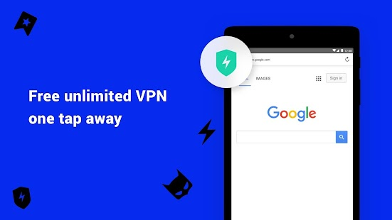 Aloha Browser - private fast browser with free VPN Screenshot