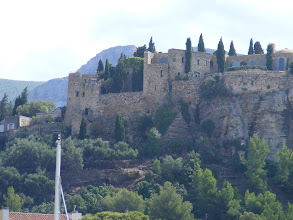 Photo: Above the harbor is this fortress, the Chateau de Cassis, which has stood here since the Saracen invasions in the 7th century.