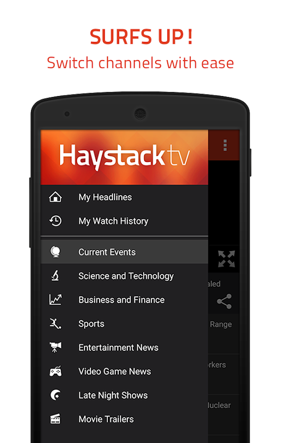 Haystack TV: Local & World News - Free- screenshot