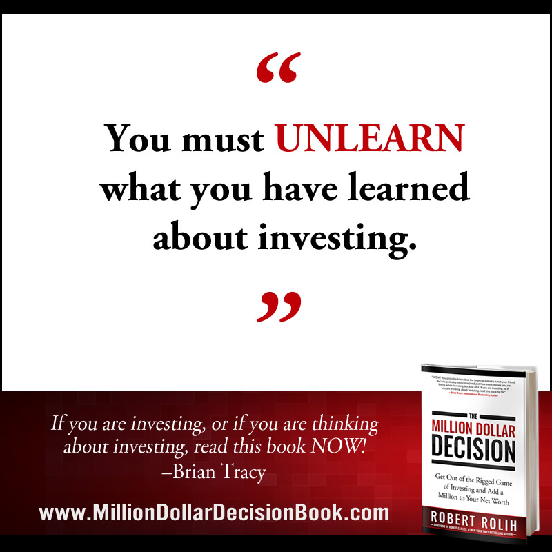 The Million Dollar Decison Quote Unlearn