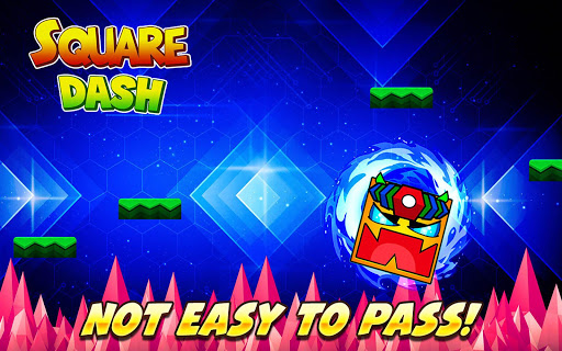 Square Dash: Jump Games, Geometry Word Free 1.0 screenshots 3