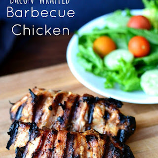 Bacon-Wrapped Barbecue Chicken