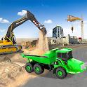 Sand Excavator Simulator Games icon