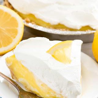 No Bake Lemon Cream Pie.