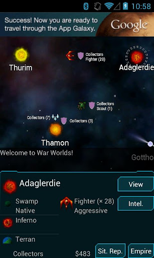 Télécharger Gratuit War Worlds apk mod screenshots 1