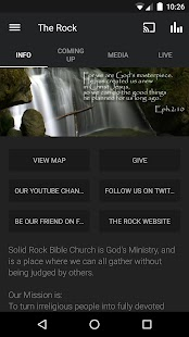 Solid Rock Bible Church- screenshot thumbnail