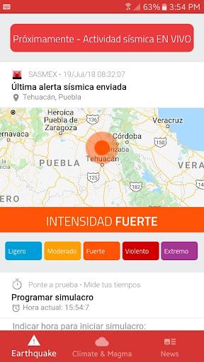 SafeLiveAlert Alerta su00edsmica 4.0.5 screenshots 1