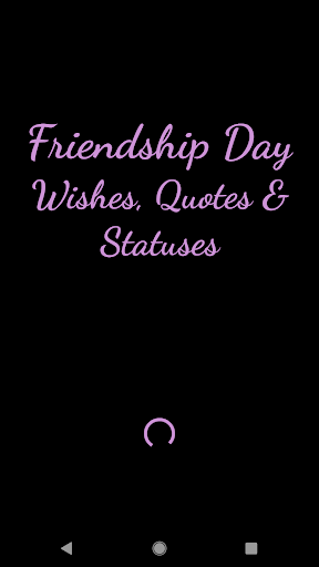 Friendship Day Wishes, Quotes and Statuses screenshot 1