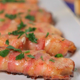 Honey-Glazed Bacon-Wrapped Chicken