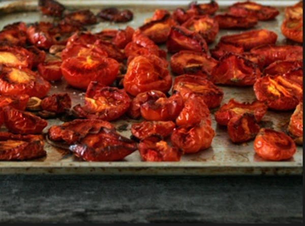 Toss the roasted tomatoes with the remaining 2 Tablespoons olive oil,  sage, ...