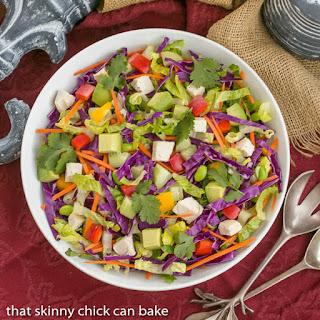 Thai Salad with Peanut Dressing Recipe