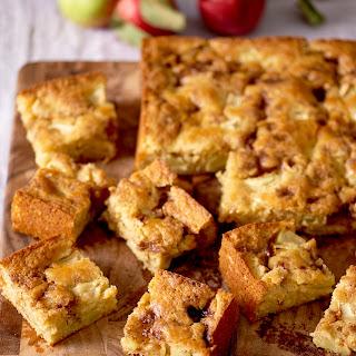 Apple Yogurt Cake with a Cinnamon-Sugar Streak Recipe