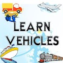 Learn about Vehicles for kids icon