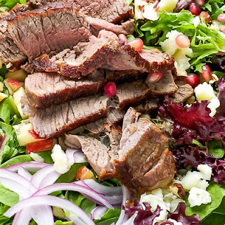 Fillet Mignon Fall Salad.