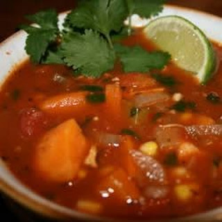 Spicy Chicken and Sweet Potato Stew